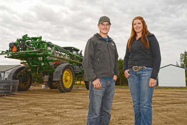 Storytellers Jake Leguee & Sarah Leguee, Saskatchewan farmers