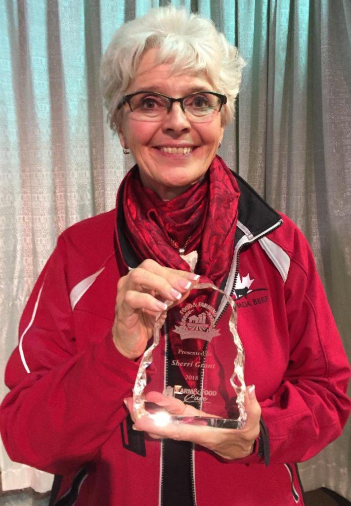 Sherri Grant - Champion Award Recipient