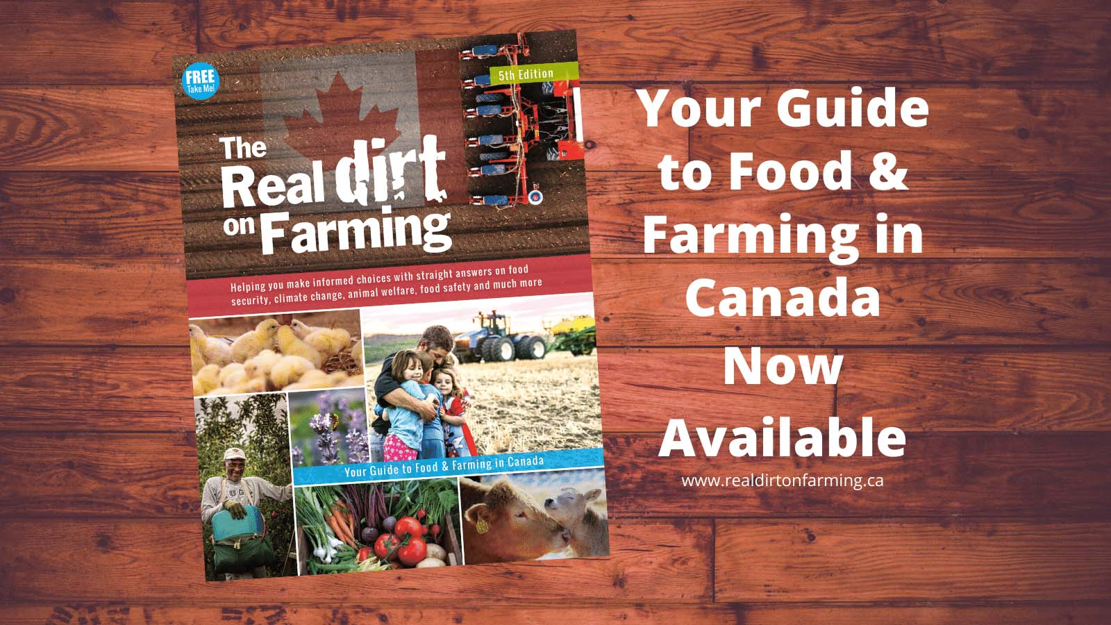The Fifth Edition of The Real Dirt on Farming Now Available