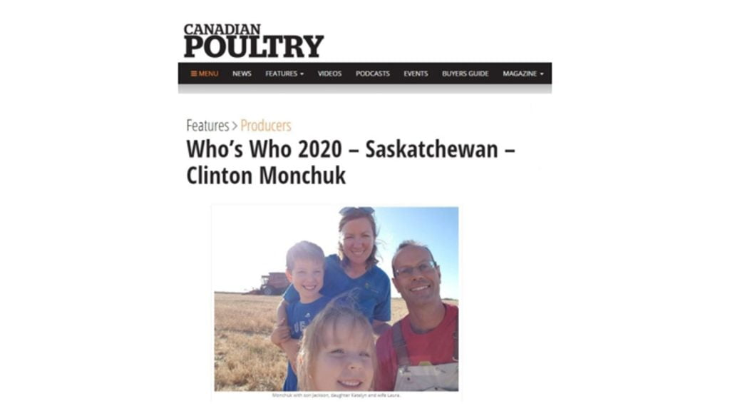 poultry magazine feature