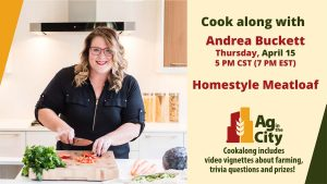 Andrea Buckett - Cookalong Homestyle Meatloaf April 15