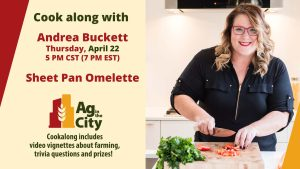 Andrea Buckett Cookalong Omelette April 22