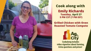 Emily Richards Cookalong Grilled Chicken April 27