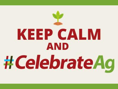 keep calm and celebrate ag